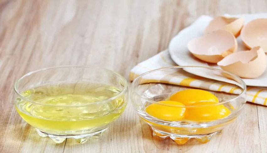 2. Chanh và lòng trắng trứng
