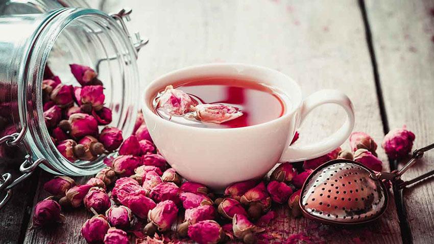 Trà hoa hồng - Thức uống trị mụn được yêu thích nhất