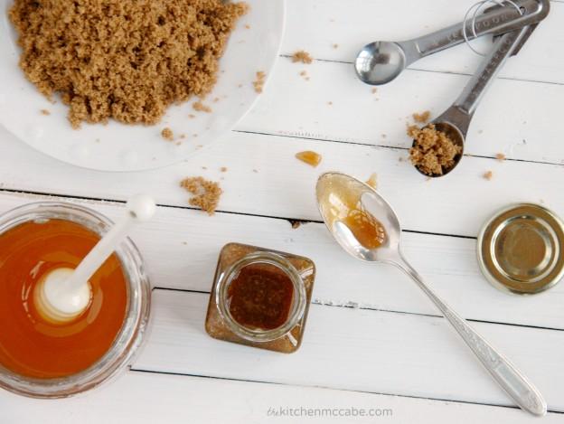 chanh mật ong đường nâu