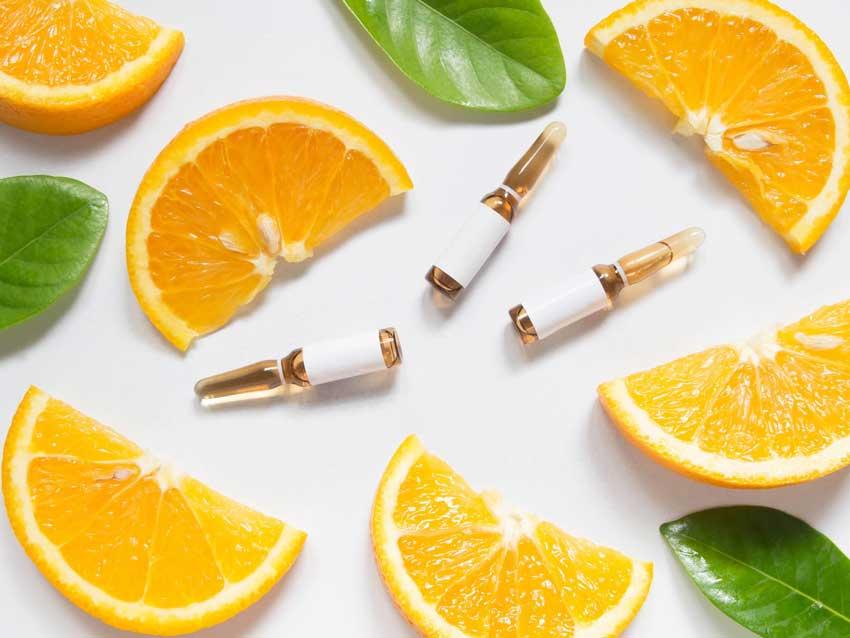 1. Uống collagen kết hợp với vitamin C