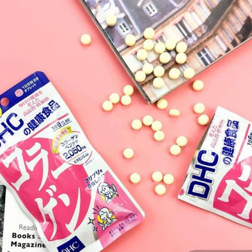 1. Viên uống collagen DHC Nhật Bản