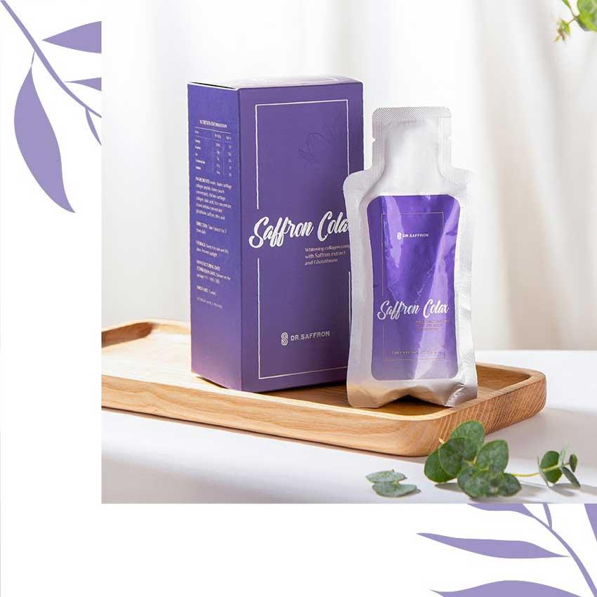 Cách bảo quản collagen Saffron Colax