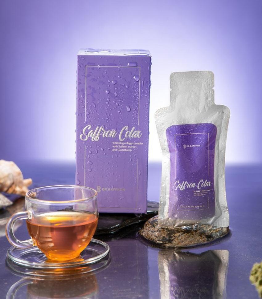 Collagen Saffron Colax là gì?