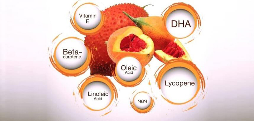 Dầu gấc dưỡng da - 5 tác dụng ít ai biết tới