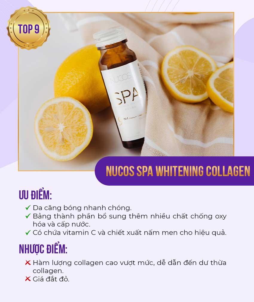 9. Nucos Spa Whitening Collagen