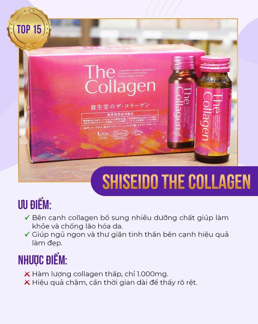 15. Shiseido The Collagen