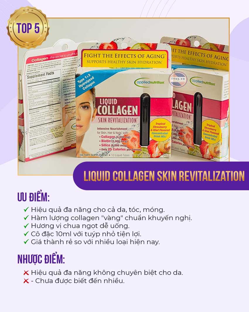 5. Liquid Collagen - Nước uống collagen Mỹ top 1