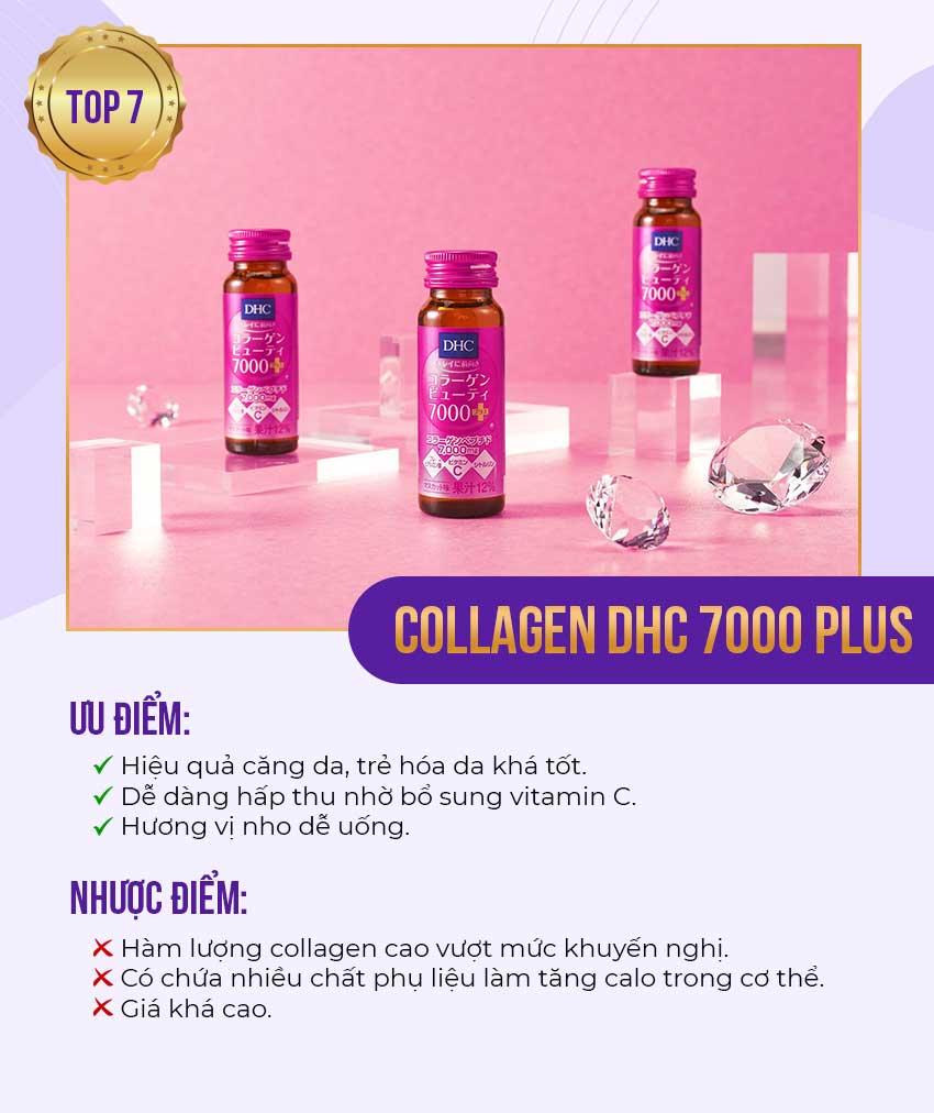 7. Collagen DHC 7000 plus - Collagen Nhật tốt nhất