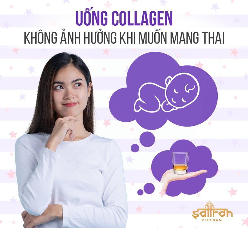uống collagen có ảnh hưởng đến sinh sản không