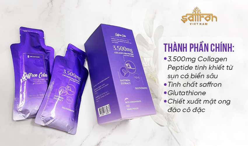 Collagen Saffron Colax
