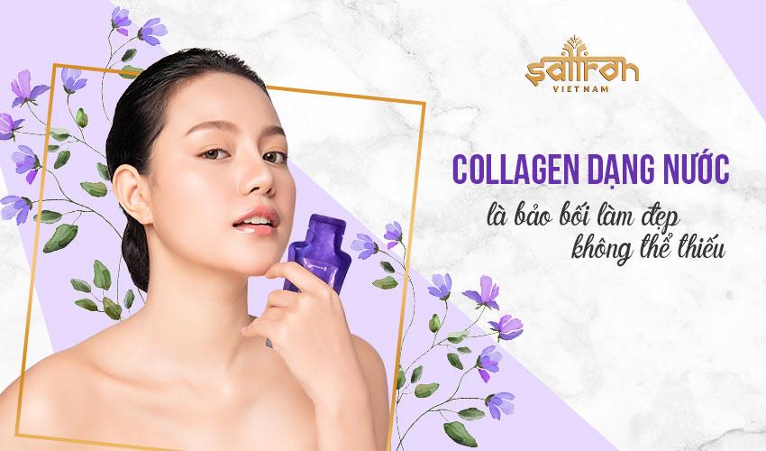 Uống collagen dạng nước có tốt không?