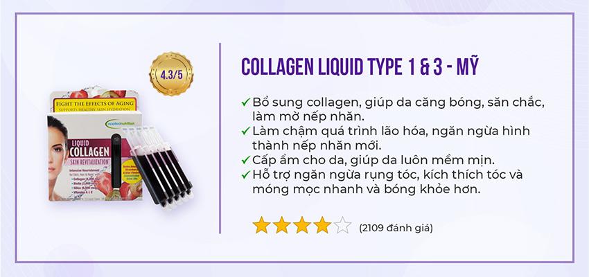 Loại collagen nào tốt cho tuổi 40 - Top 5 được khuyên dùng nhiều nhất