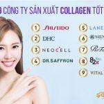 Top 9 công ty sản xuất collagen tốt với những sản phẩm bán chạy hàng đầu hiện nay