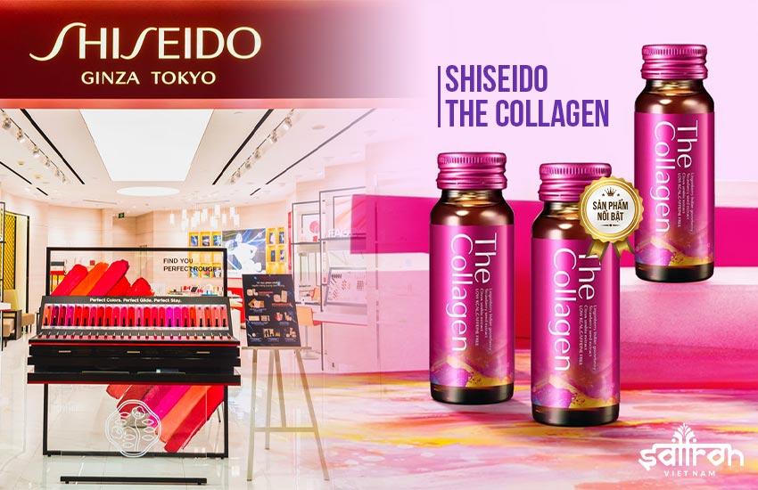 1. Shiseido - công ty sản xuất collagen tốt