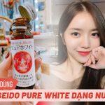 Cách dùng Shiseido Pure White dạng nước hiệu quả chỉ sau 2 tuần
