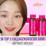 Collagen Shiseido dạng nước review 3 loại hot nhất hiện nay