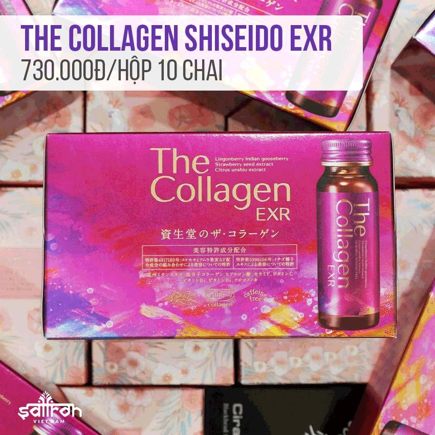 Collagen Shiseido dạng nước review