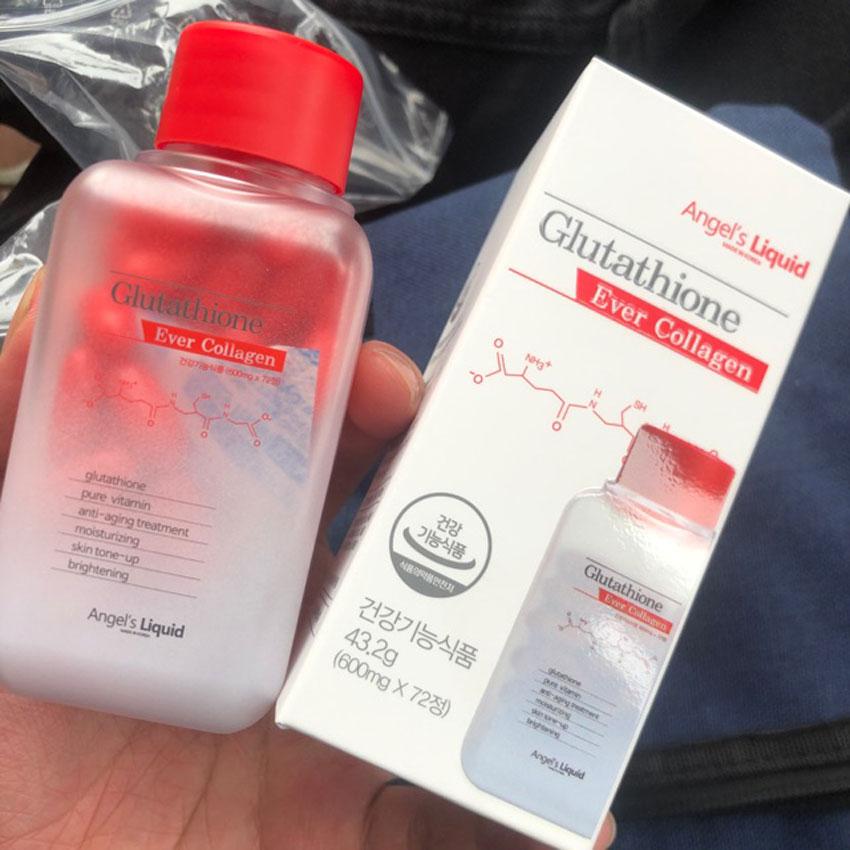 Thông tin sản phẩm viên uống trắng da Glutathione Ever Collagen