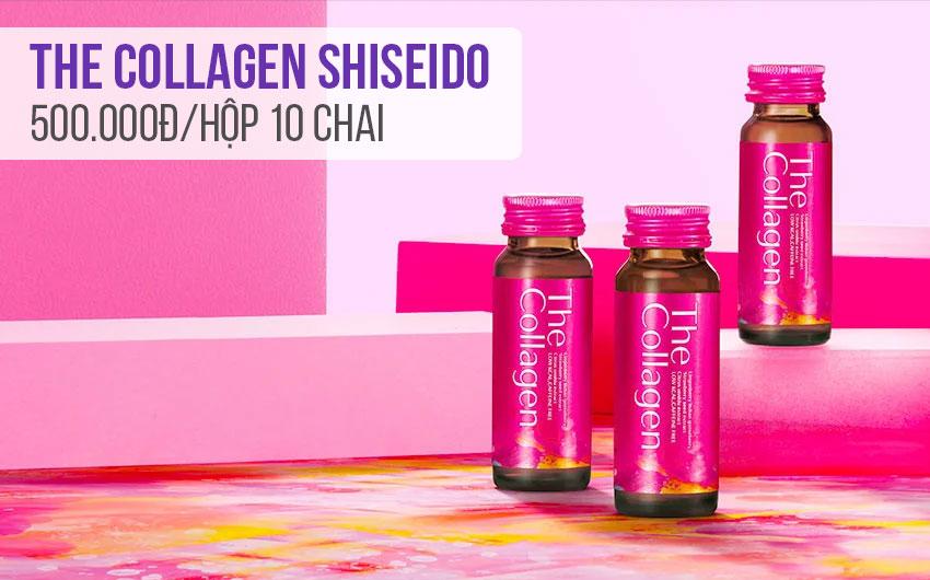 So sánh The Collagen và The Collagen EXR của thương hiệu Shiseido